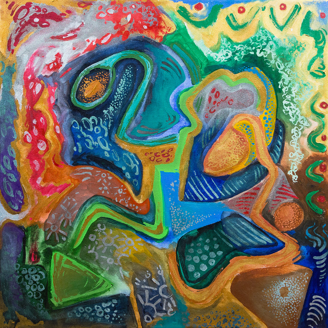 Abstract Painting Vancouver Mat Holmstrom Art